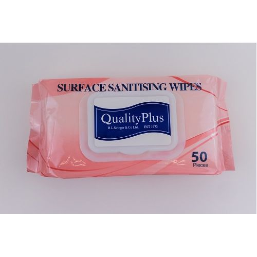 Wipes Surface Sanitising 50