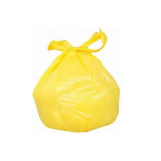 Rubbish Bag Yellow Handle Sacks-50