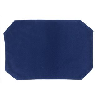 Placemat Spun Poly 43x33 Navy