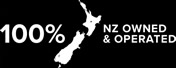 100% NZ Owned & Operated